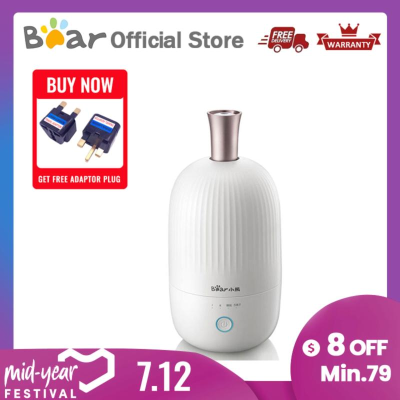 Bear Humidifier JSQ-B20L1 Desktop 2L Negative Ion Purification Essential Oil Aroma Diffuser Bedroom Office Humidifier Singapore