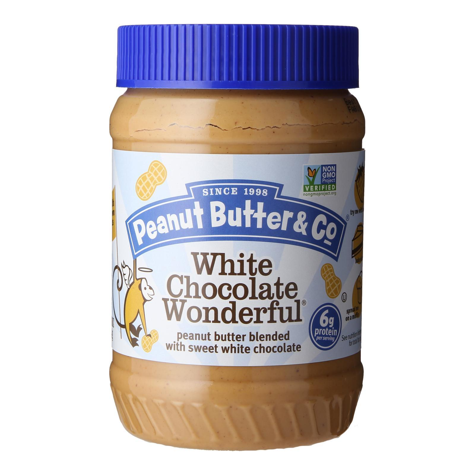 Peanut Butter & Co White Chocolate Wonderful Peanut Butter - By Wholesome Harvest