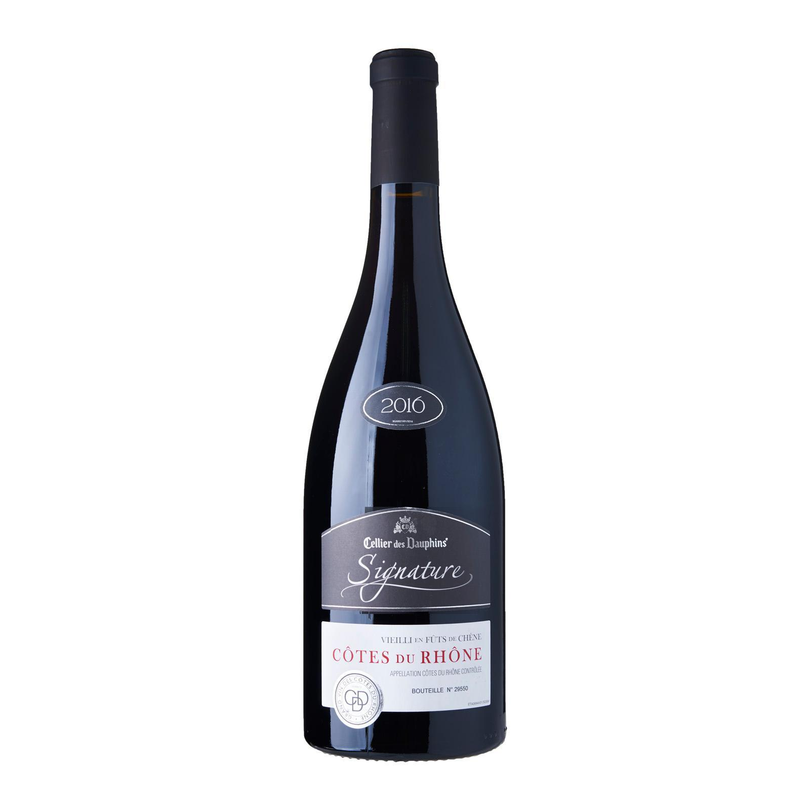 Cellier des Dauphines Signature Cotes Du Rhone Rouge Red Wine