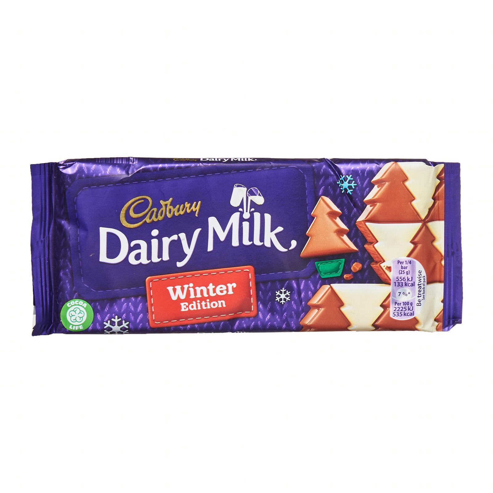 Cadbury Winter Wonderland Chocolate Bar - Christmas Special