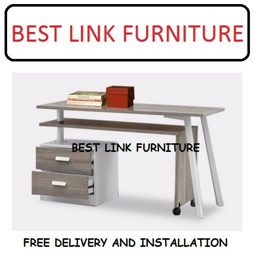 BEST LINK FURNITURE BLF 8846 Extendable Study Desk