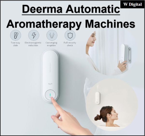 Xiaomi Deerma Automatic Aromatherapy Humidifier Air Purifier Seamless Aroma Diffuser Automatic Fragr Singapore