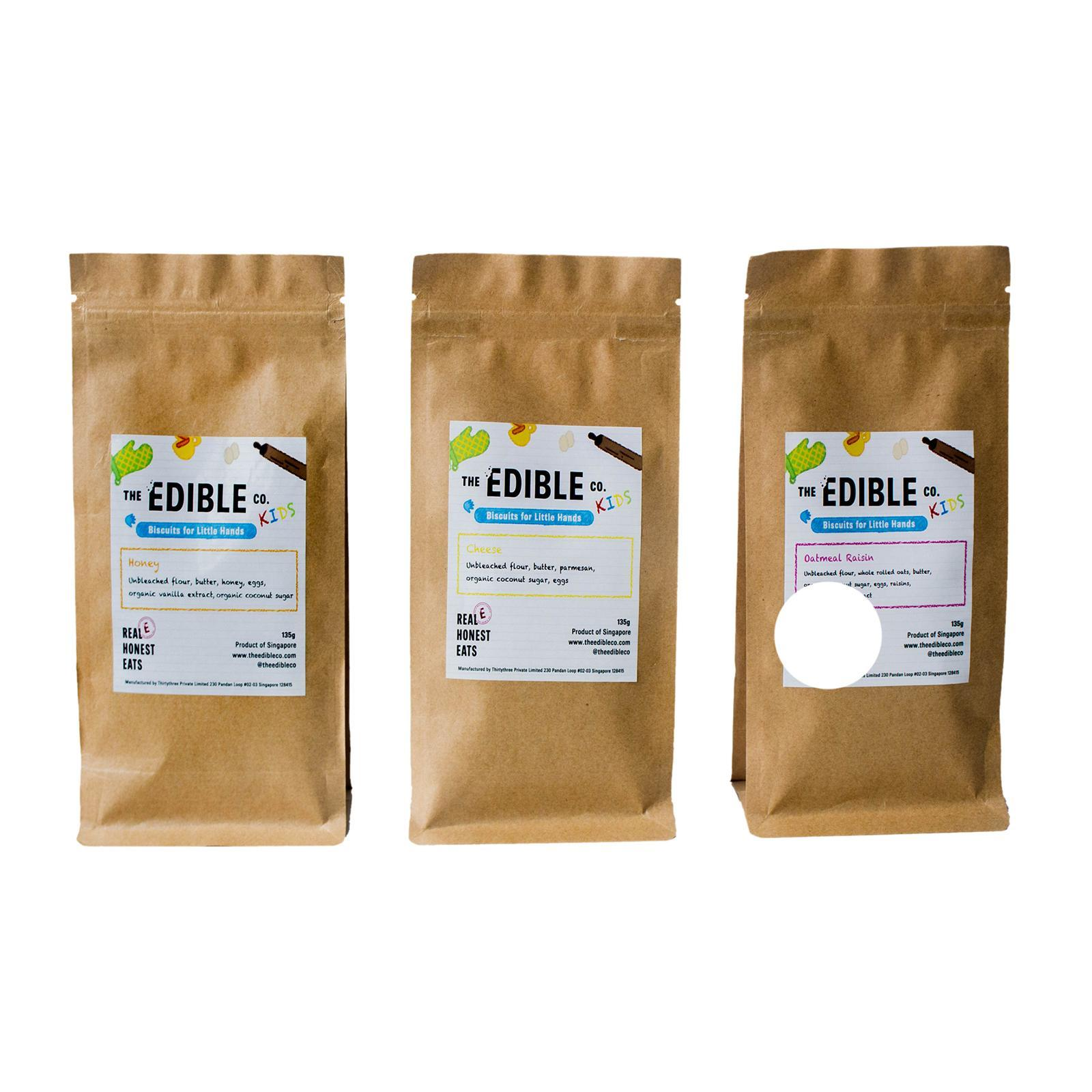 The Edible Co Biscuits For Little Hands Bundle By Redmart.