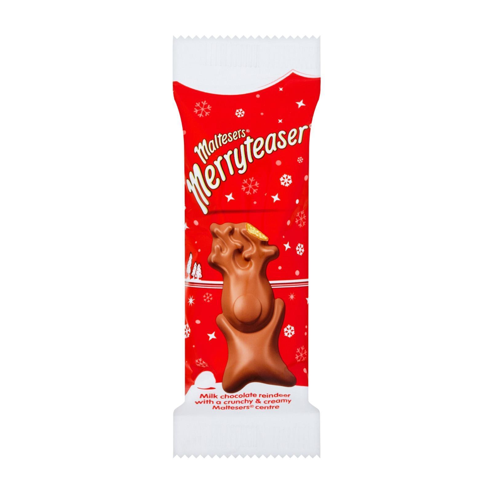 Maltesers Merryteaser Milk Chocolate Reindeer - Christmas Special