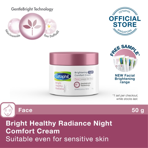 Buy CETAPHIL BRIGHT HEALTHY RADIANCE NIGHT CREAM 50G Singapore