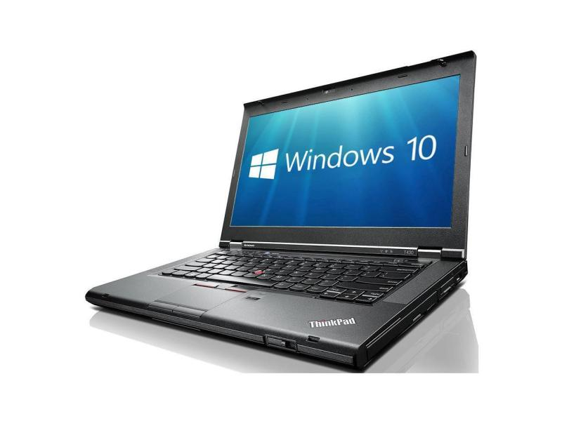 Lenovo ThinkPad T430 Notebook i5-3320M#2.6Ghz 8GB DDR3 320GB HDD Win10 Pro 14in One Month Warranty-Used