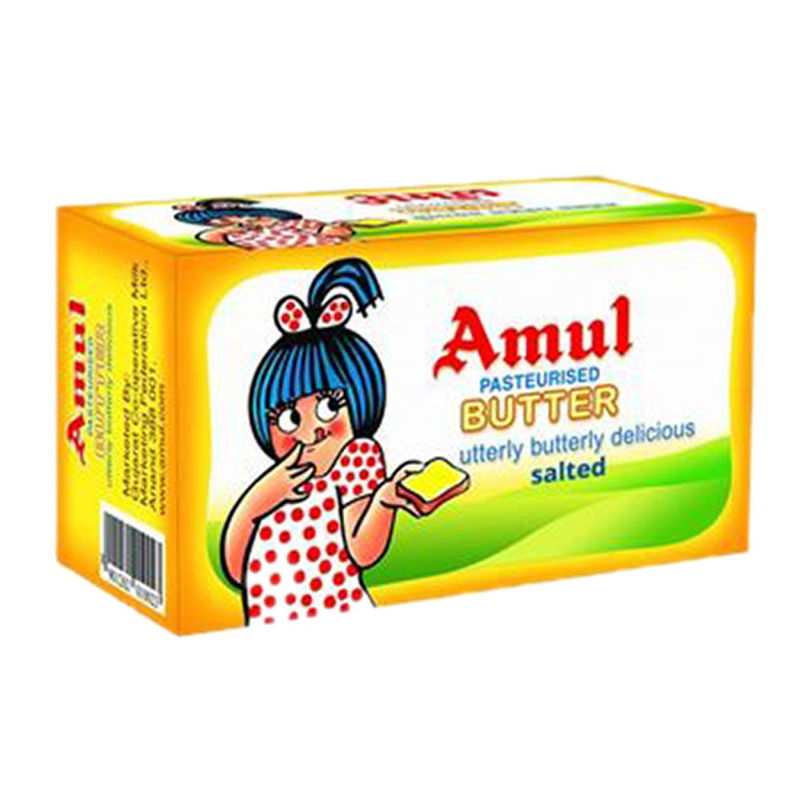 Amul Butter (Salted) - Frozen 500g - By Dashmesh