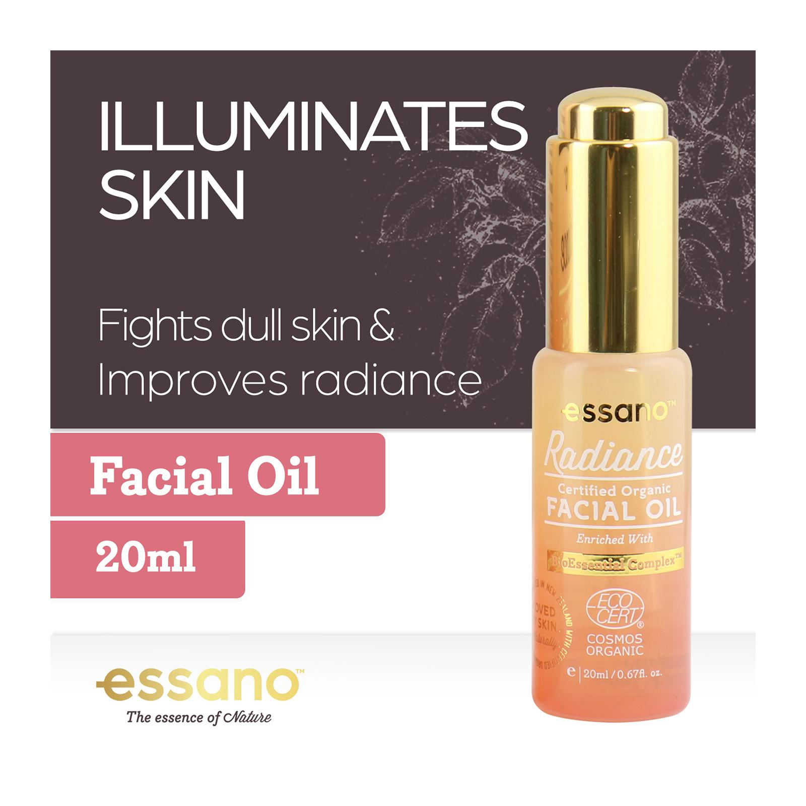 Essano Certified Organic Radiance Facial Oil - By Corlison