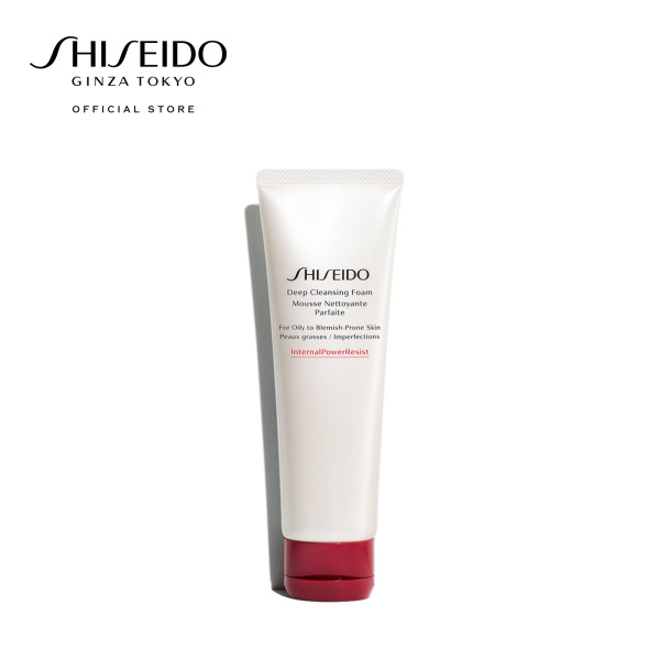 Buy Shiseido Deep Cleansing Foam 125ml Singapore