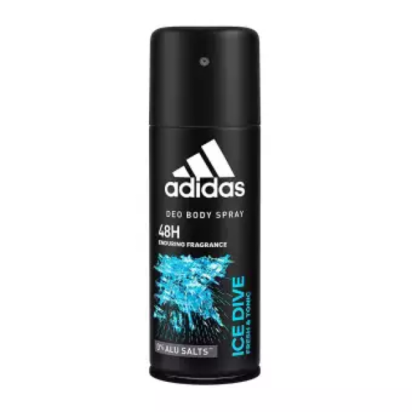 Buy (BUNDLE OF 6) Adidas Deo Body Spray Ice Dive 150ml Singapore