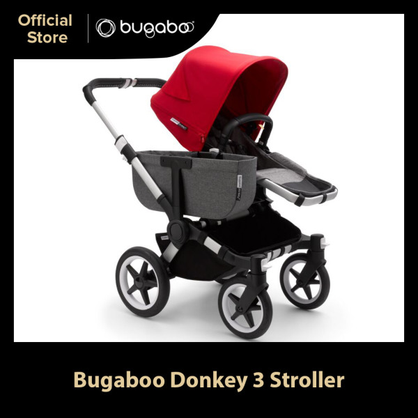 Preorder Bugaboo Donkey 3 Mono Complete Convertible Twin Stroller Singapore