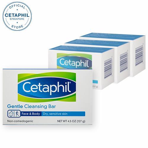 Cetaphil Gentle Cleansing Bar 4.5oz (bundle Of 4) By Cetaphil.