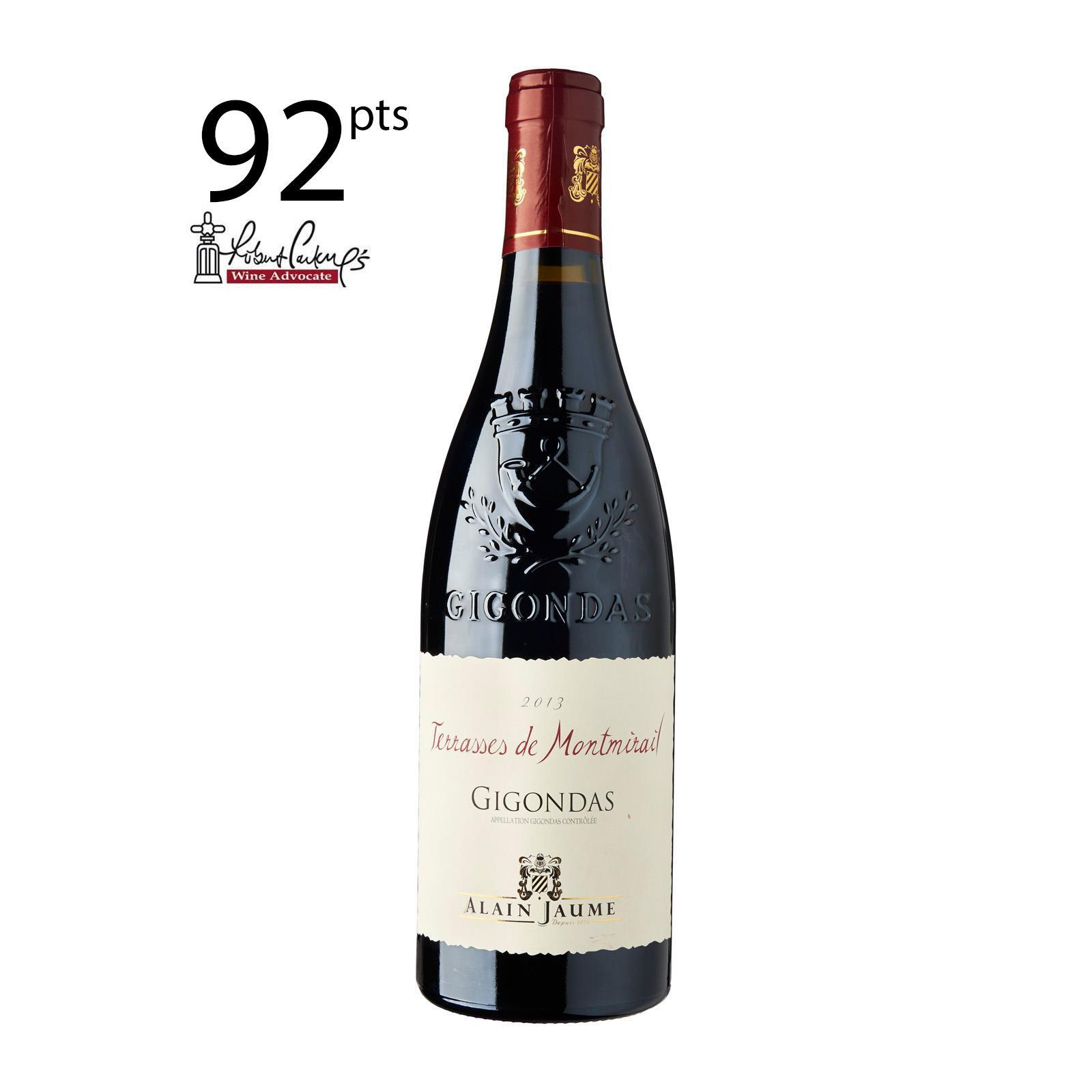 Domaine Grand Veneur Alain Jaume - Gigondas Terrasses de Montmirail 2015 - 750 ml - By The Vintage Wine Club