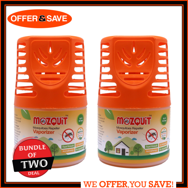 [Bundle Of 2] Mozquit Mosquitoes Repeller Mosquito Repel (All Natural Formula)