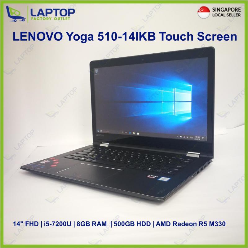 LENOVO Yoga 510-14IKB Touch Screen (i5-7/8GB/500GB) Premium Preowned [Refurbished]