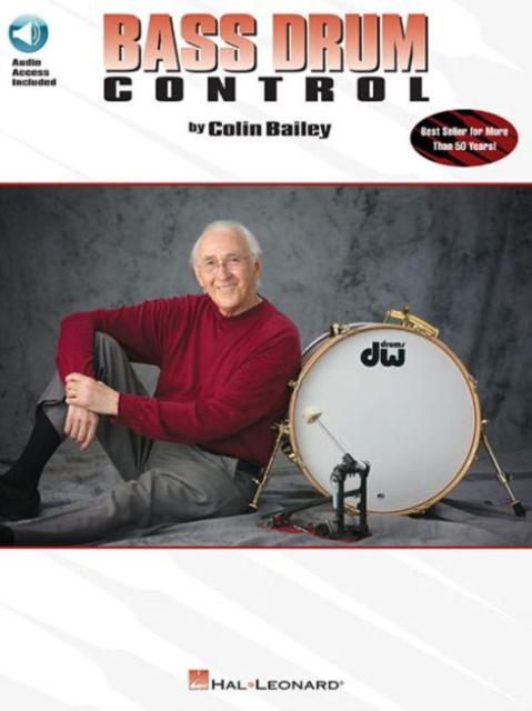 Bass Drum Control (Book/Online Audio) (Author: Colin Bailey; ISBN: 9780793591596)