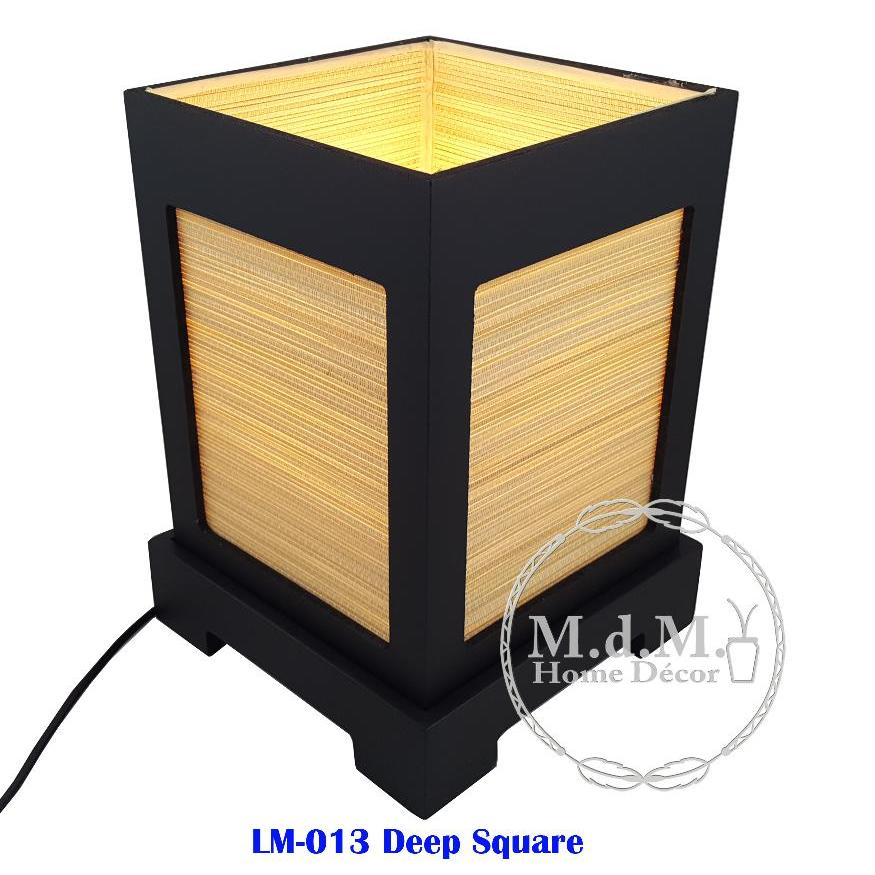 Mango Wood Bed Side Lamp LM013