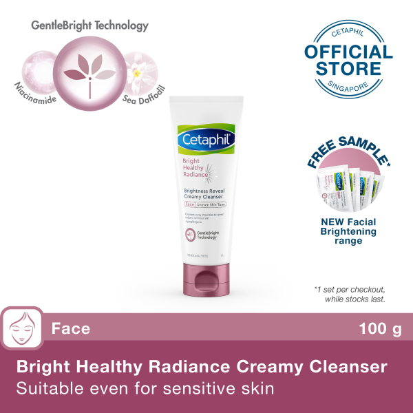 Buy CETAPHIL BRIGHT HEALTHY RADIANCE CLEANSER 100ML Singapore