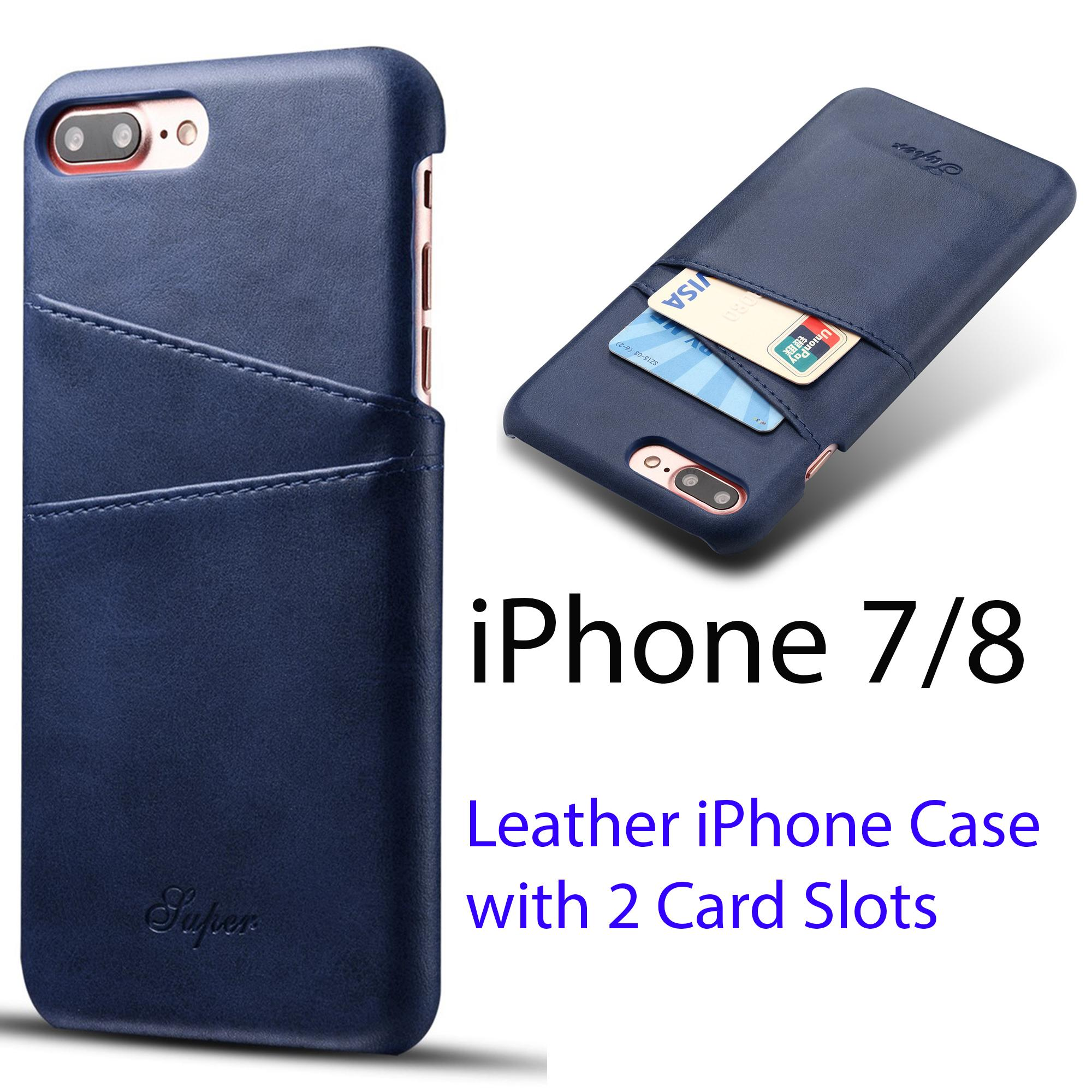 [iPhone 7 and iPhone 8 (4.7 inch)] Luxury High Quality PU Leather