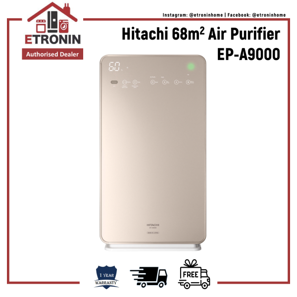 Hitachi 68m2 Air Purifier EP-A9000 Singapore