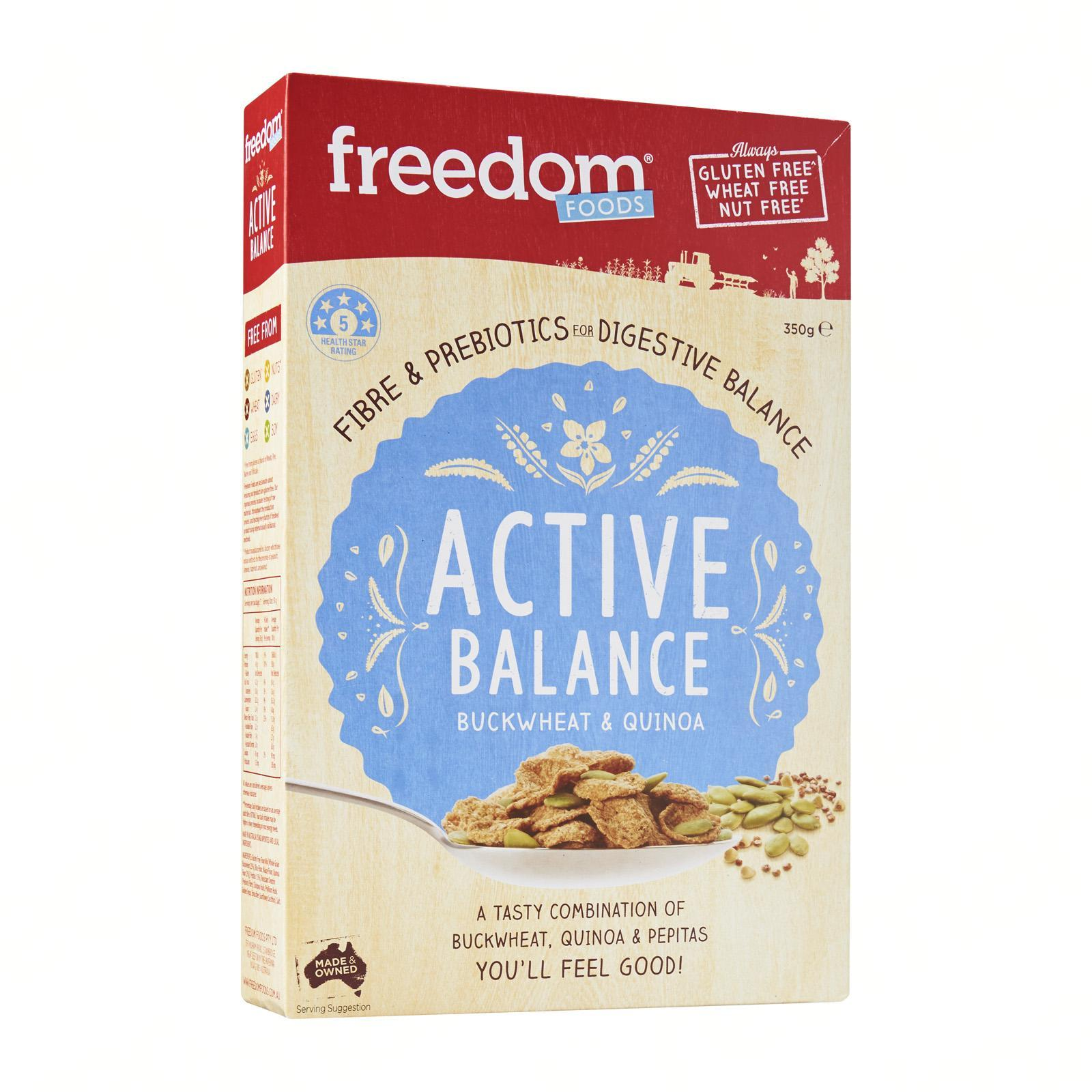Freedom Foods Active Balance Buckwheat And Quinoa By Redmart.