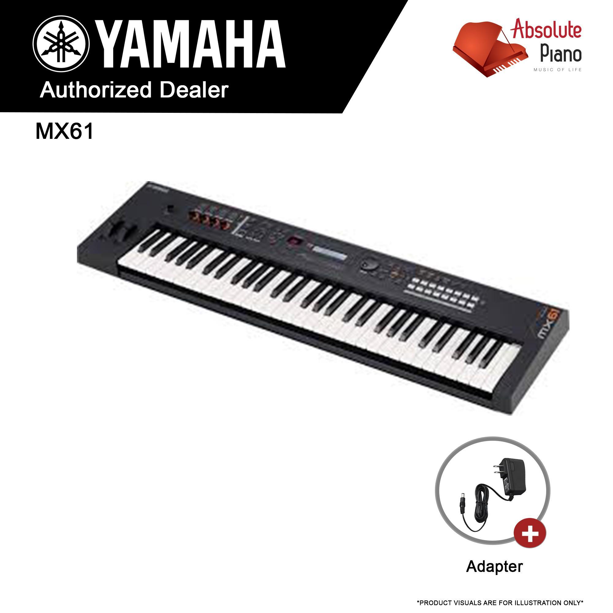 Yamaha Mx61 61-Key Keyboard Production Station (black) - Mx 61 By Absolute Piano.