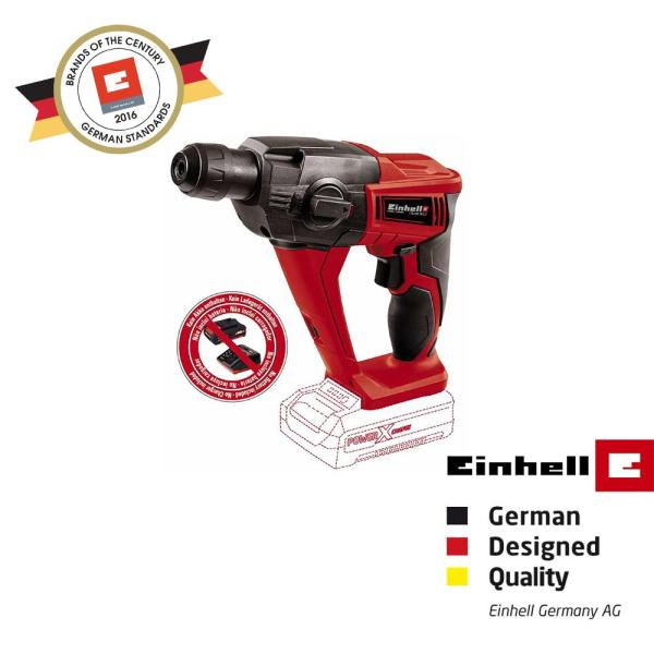 Einhell PXC Cordless Rotary Hammer TE-HD 18 Li-Solo [Battery not included]