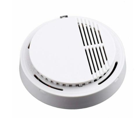 85dB Wireless Smoke Detector Home Security Fire Alarm Photoelectric Sensor