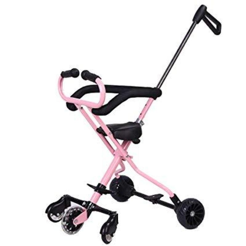 Baby Trolley 5-Wheel Lightweight Foldable Stroller Come With Brakes Singapore