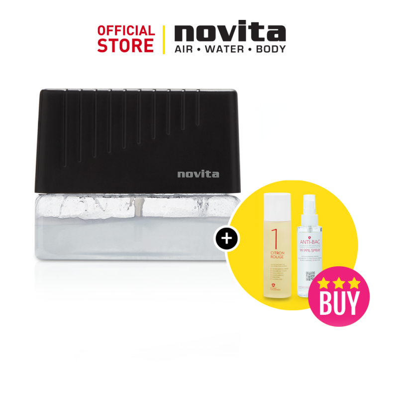 novita Air Revitalizer AR6 Bundle with Air Purifying Solution Concentrate & Anti-Bac Spray Singapore
