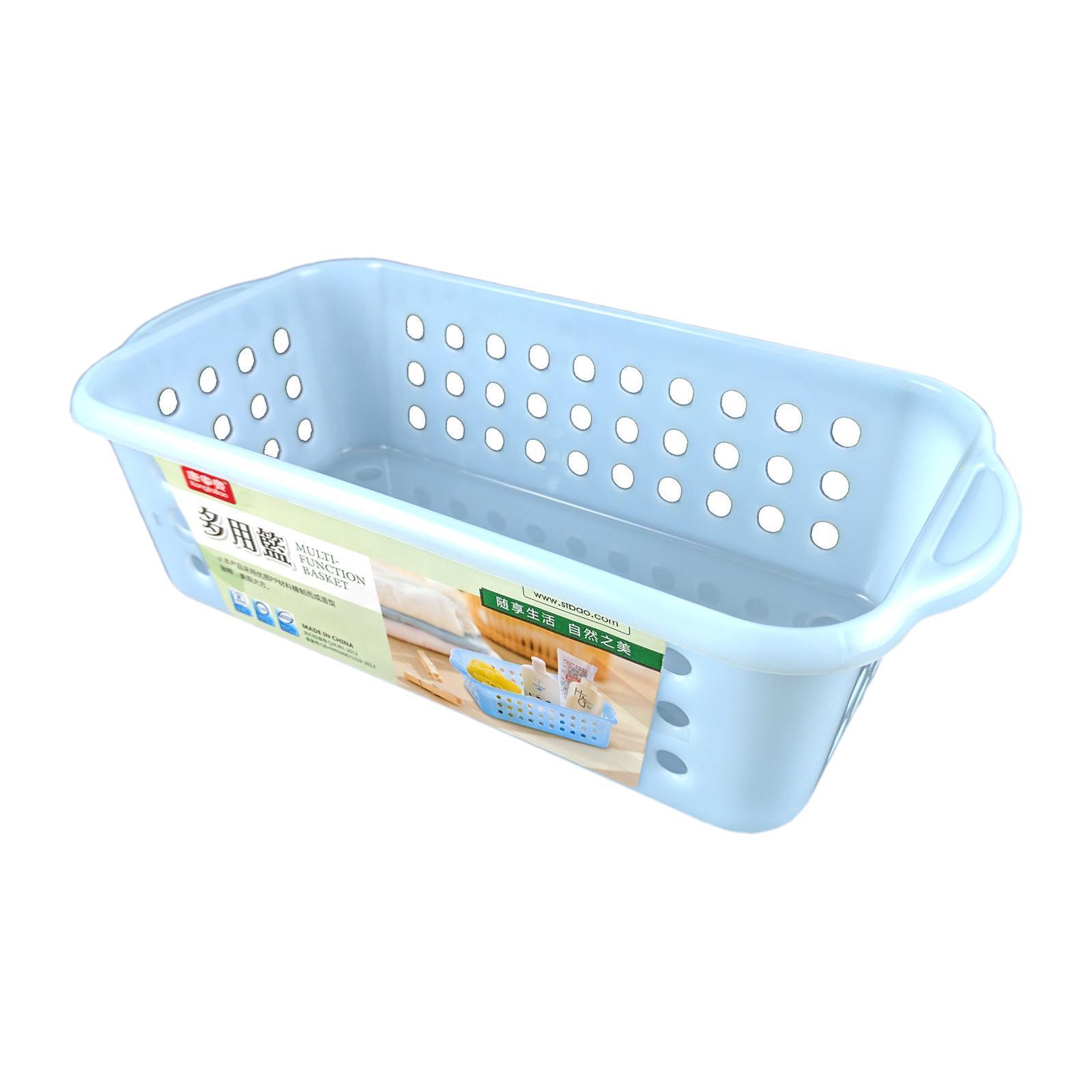 KangjiaBao Plastic Organiser Tray (2 per Pack) - Blue
