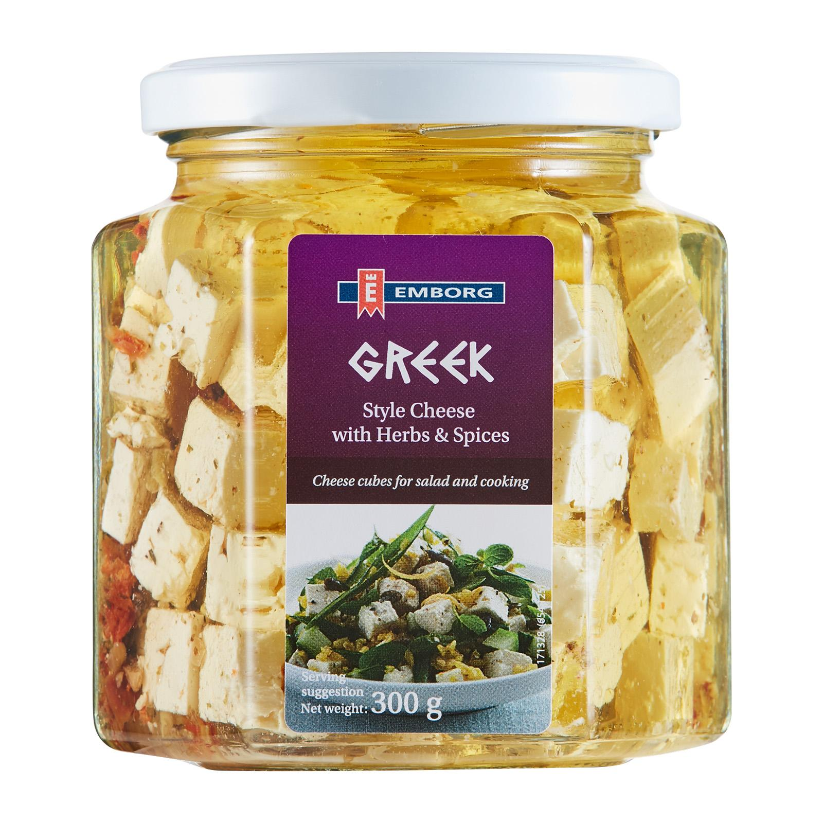 Emborg Greek Style Cheese With Herbs And Spices Cheese