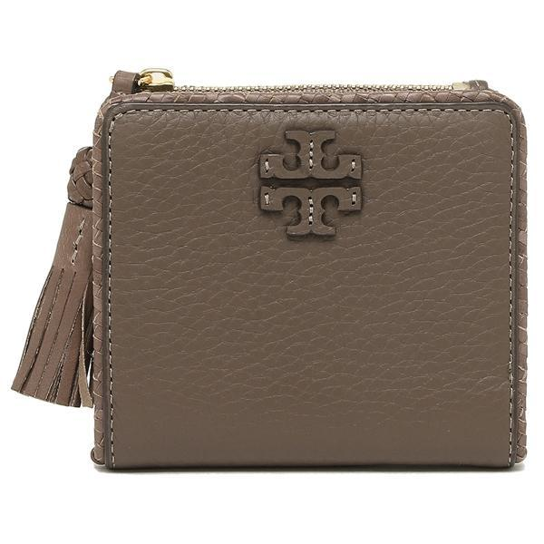 NEW ARRIVAL TORY BURCH Taylor Mini Wallet Silver Maple