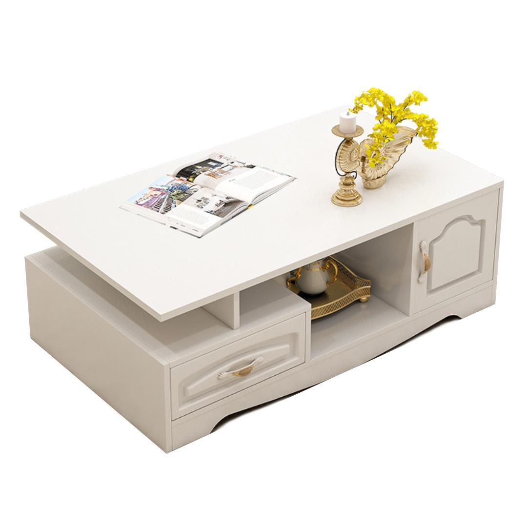 JIJI ( Lourve Coffee Table ) Furniture / Living Room / Coffee Table / FREE Installation / FREE Delivery / 12 Months Warranty / (SG)