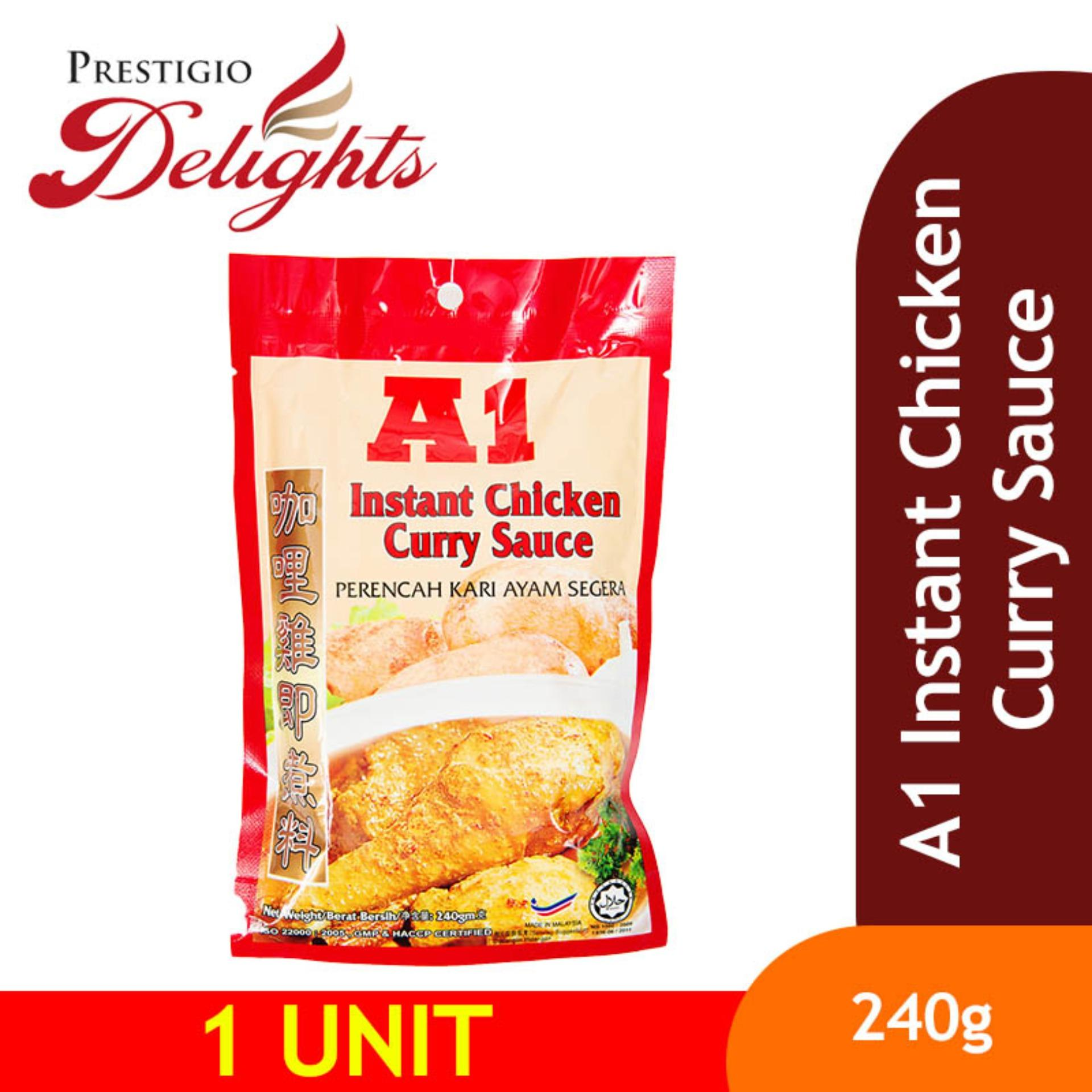 A1 Instant Chicken Curry Sauce 240g By Prestigio Delights.