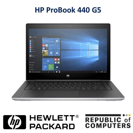 HP ProBook 440 G5 Notebook / i5 / Windows 10 Pro 64 / 14 inch / 4GB RAM / 500GB HDD