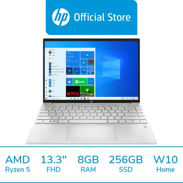 HP Pavilion Aero Laptop 13-be0052AU / AMD Ryzen 5 5600U / 8GB RAM / 256GB SSD / 13.3 FHD / Win 10 / 1 Year Warranty / McAfee LiveSafe Included / Thin & Light / Portable