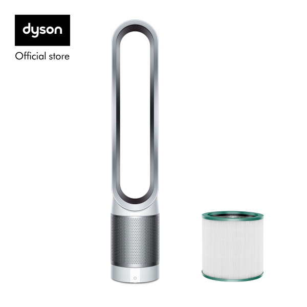 Dyson Pure Cool™ TP00 Air Purifier Tower Fan White Silver with TP00 Filter worth $79 Singapore