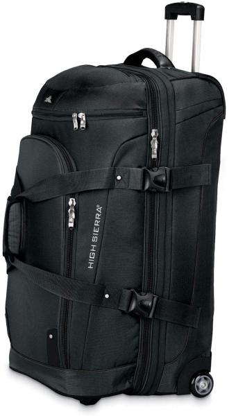 High Sierra AT3 Drop-Bottom Wheeled Duffle