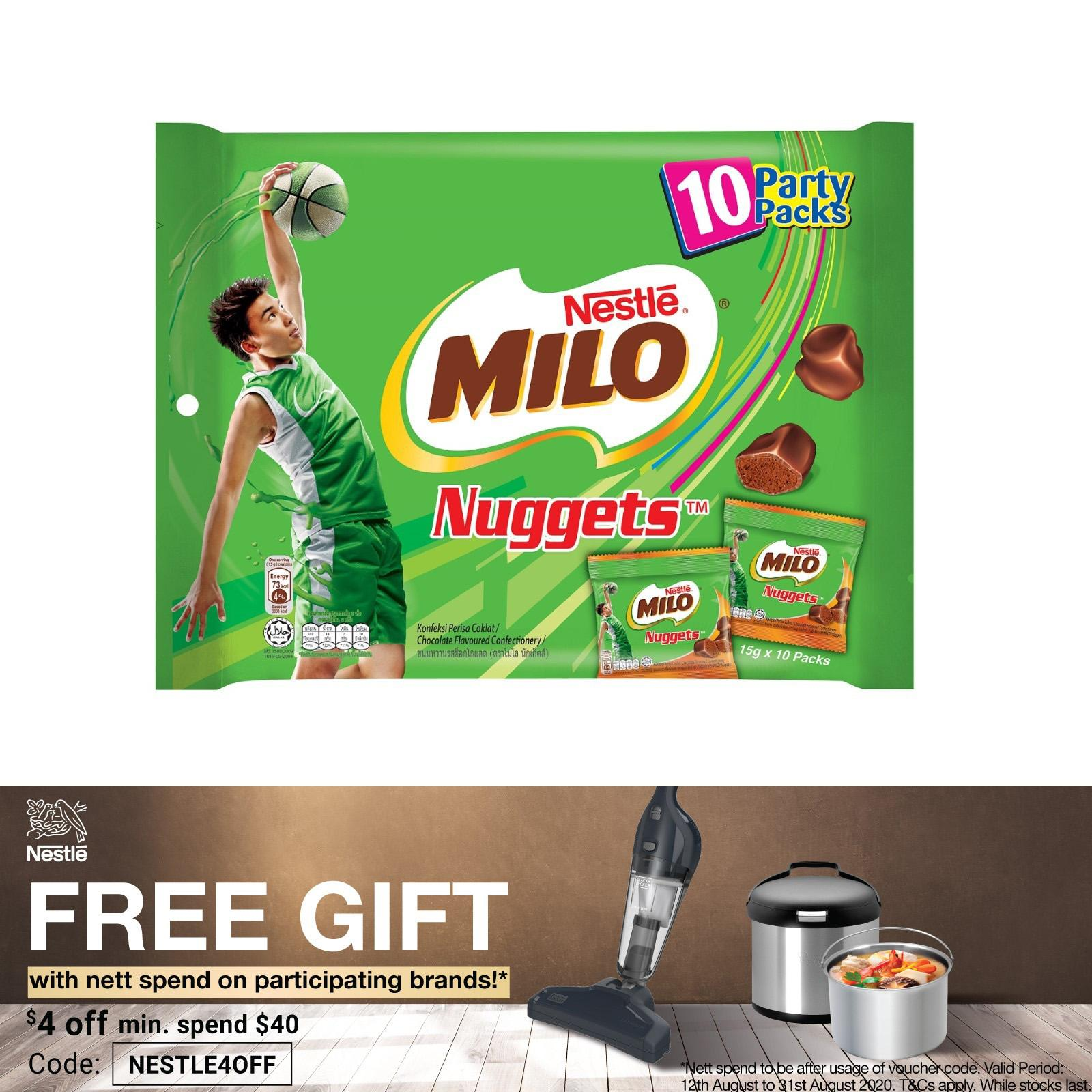 MILO Actigen-E Nuggets 10S Sharebag
