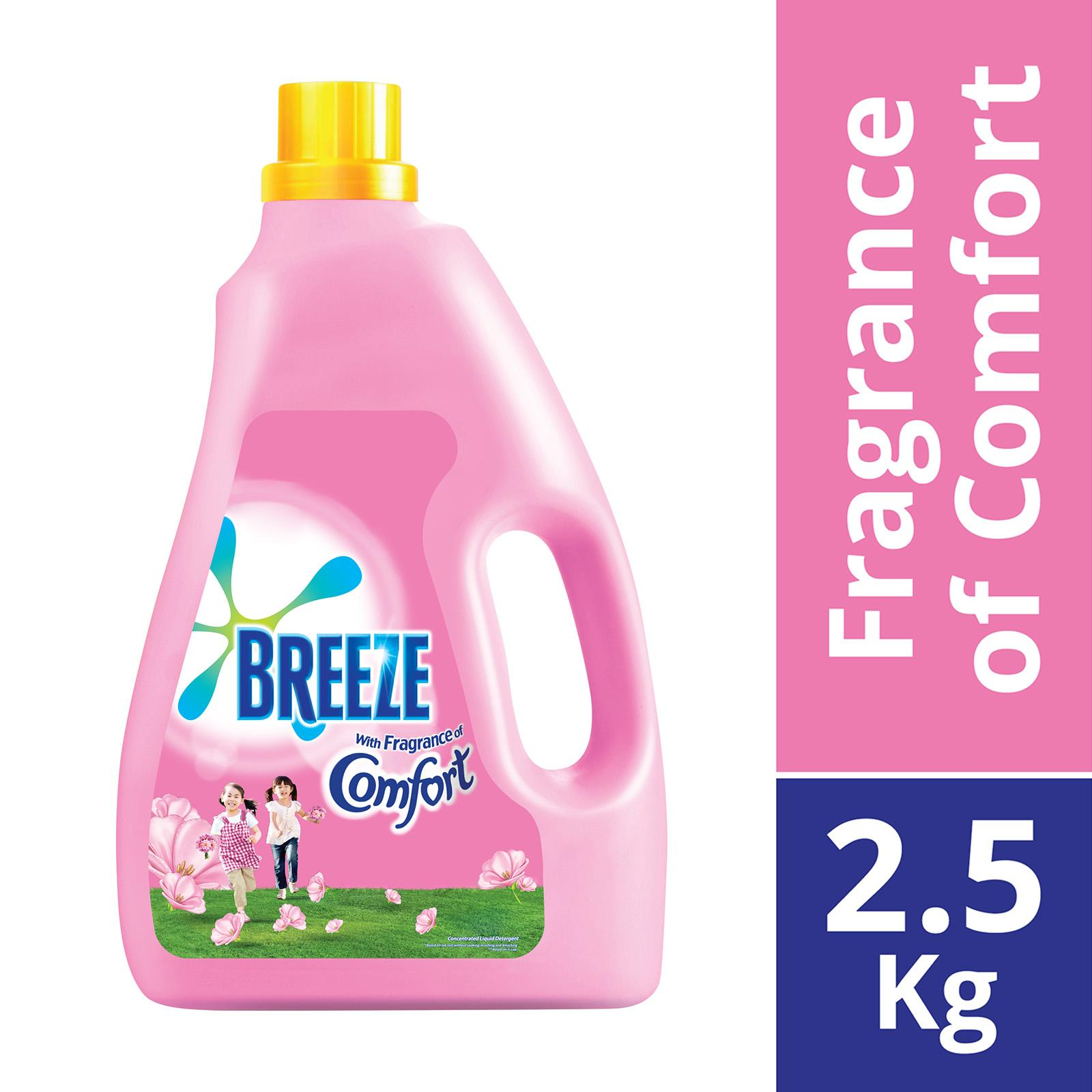 BREEZE Liquid Detergent Fragrance of Comfort 2.5kg