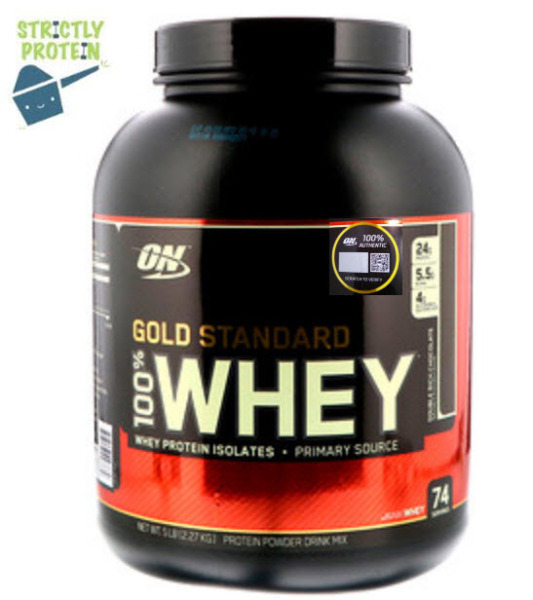 Buy 5lbs, Optimum Nutrition, Gold Standard 100% Whey, Whey Protein, Protein Powder Singapore