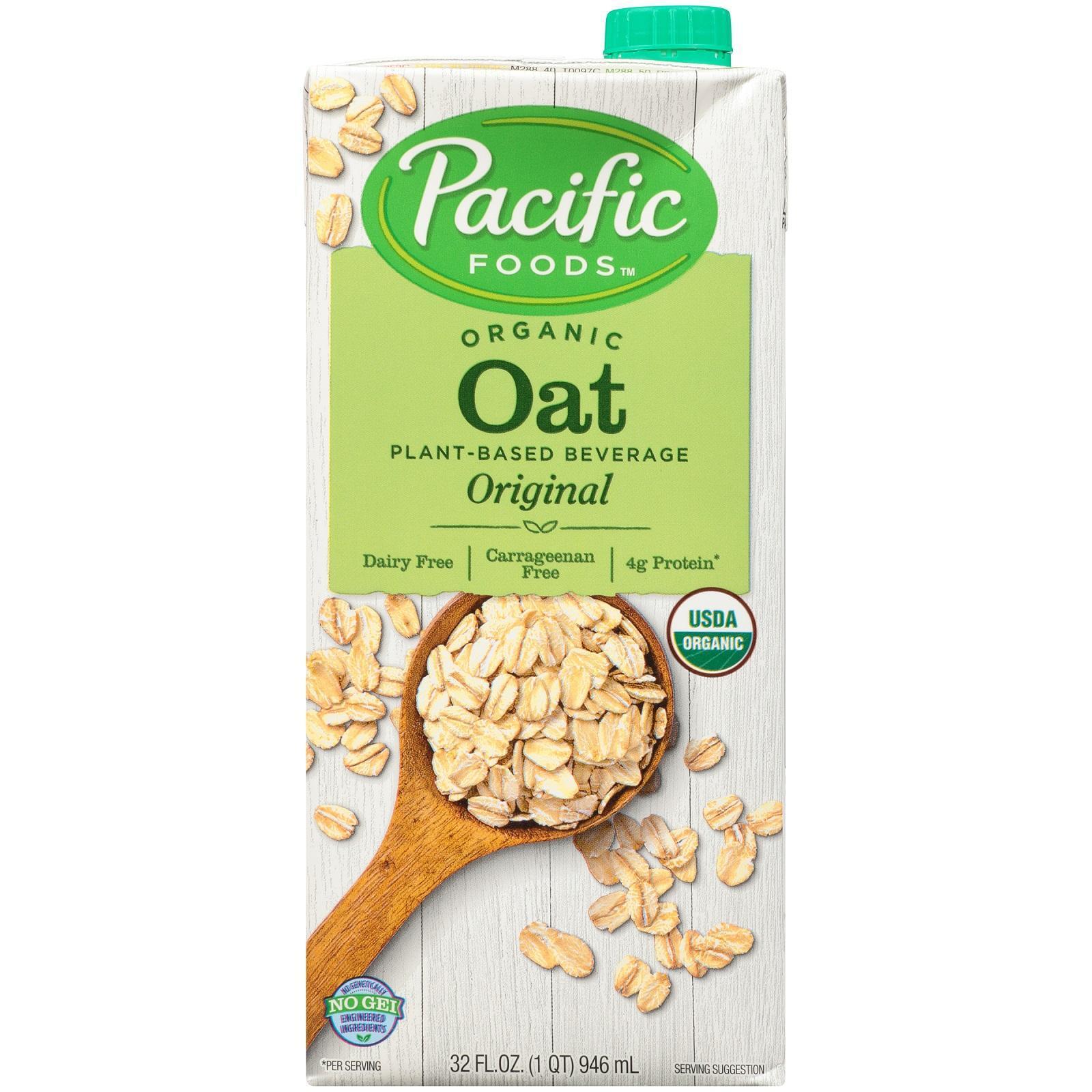 Pacific Organic Beverages - Oat Original