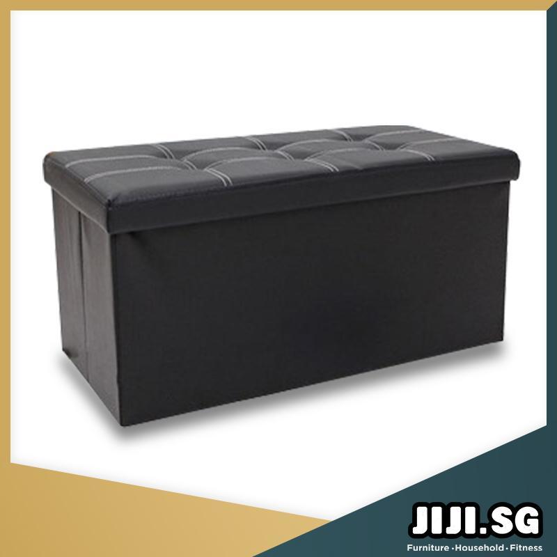JIJI (ARLETA Foldable Stools) - S 38CM / L 76CM / Storage Stool / Chairs / Sofa / Stools / Storage Organize / Furniture (SG)