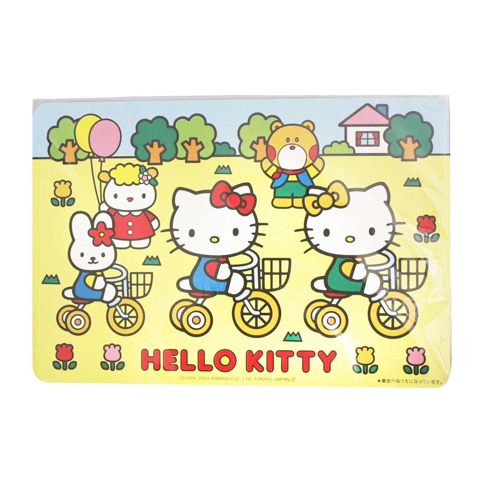 Sanrio Paper Place Mat /4 Sheets Included(Hello Kitty)