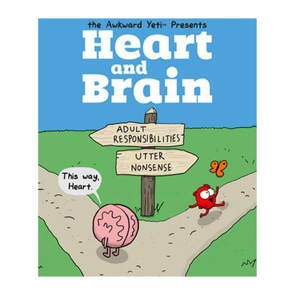 Heart And Brain: An Awkward Yeti Collection (Paperback)