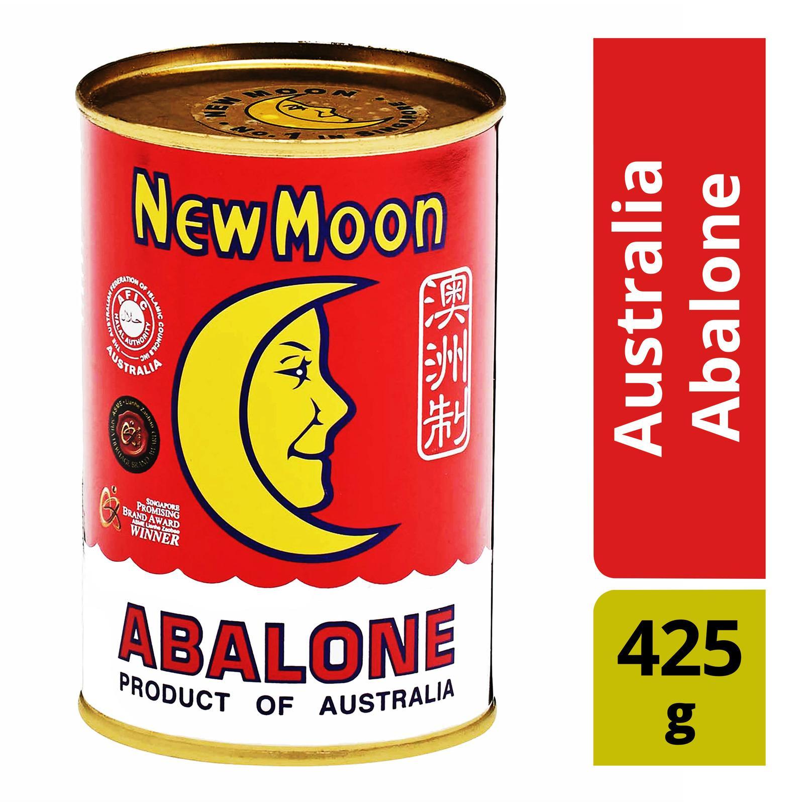 New Moon Australia Abalone 425g - 3 Pcs By Best Buy Mini Mart.