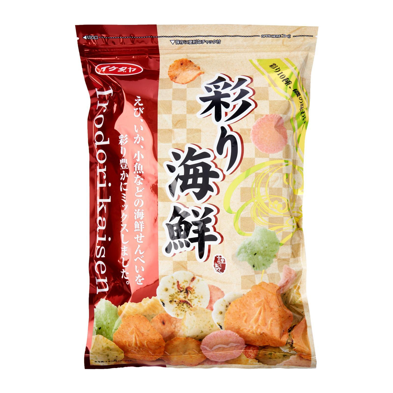 Ikedaya Seafood Rice Crackers