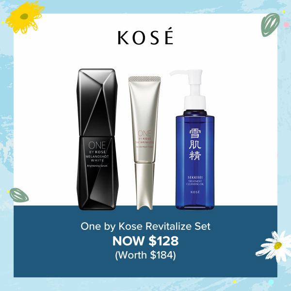 Buy [Mothers Day Special] One by Kose Revitalize Set Singapore
