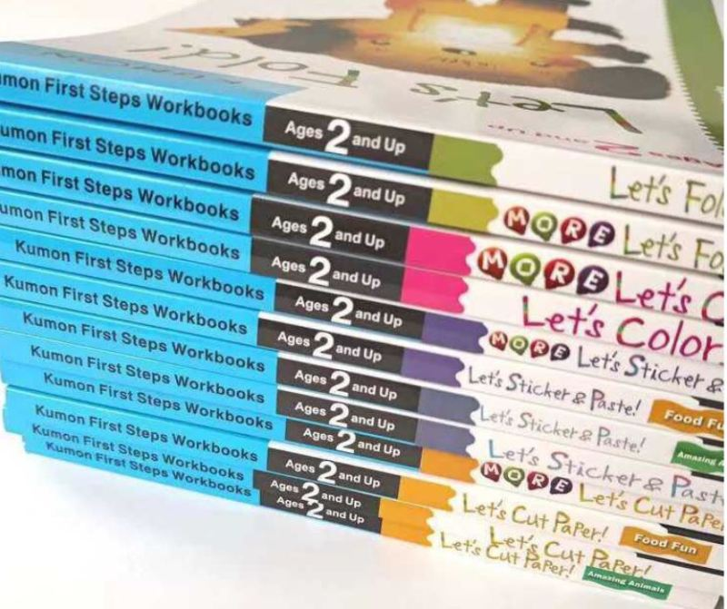 [SG SELLER] [12 BOOKS] Kumon First Step Activity Book Workbooks